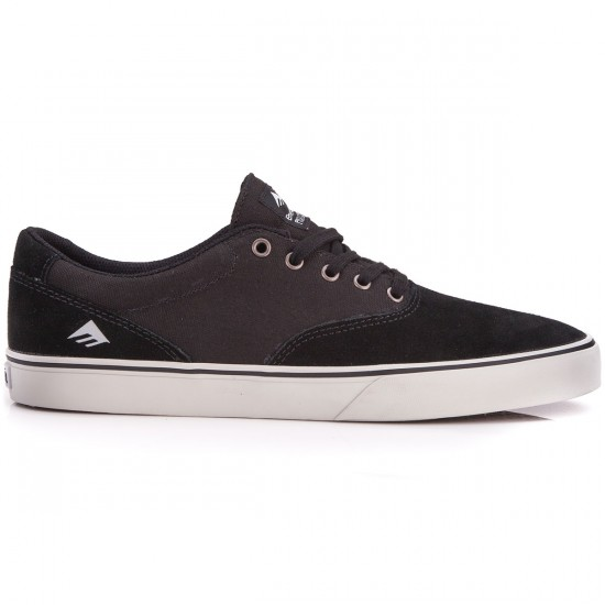 Emerica Provost Slim Vulc Shoes - Black/Grey - 6.0