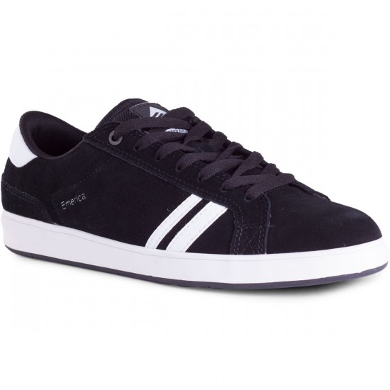 Emerica The Leo 2 Shoes - Black/White - 8.0
