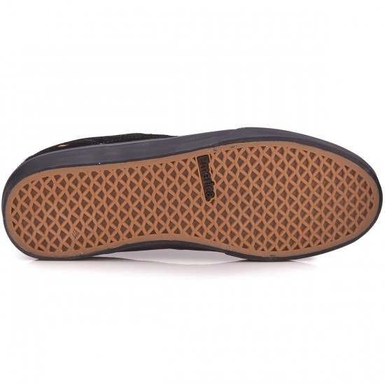 Emerica The Herman G6 Vulc Shoes - Black/Black - 6.0