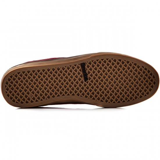 Emerica The Herman G6 Vulc Shoes - Burgundy/Gum - 8.0