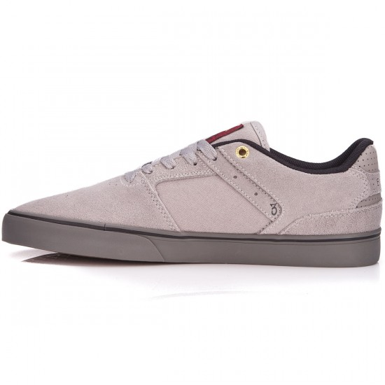 Emerica The Reynolds Low Vulc Shoes - Grey/Grey - 6.0