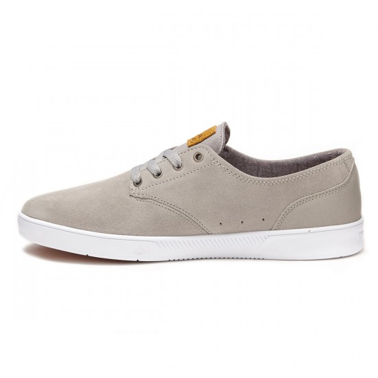Emerica The Romero Laced Shoes - Grey/White/Gum - 8.0