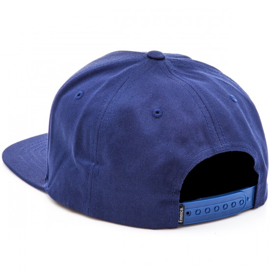 Emerica Triangle Snapback Hat - Navy/Gold