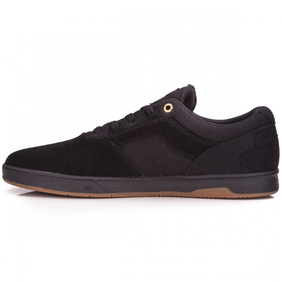 Emerica Westgate CC Shoes - Black/Black/Gum - 6.0