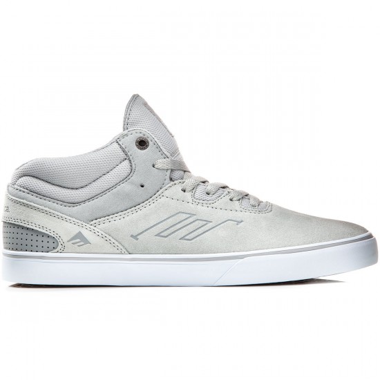 Emerica Westgate Mid Vulc Shoes - Grey/White - 8.0