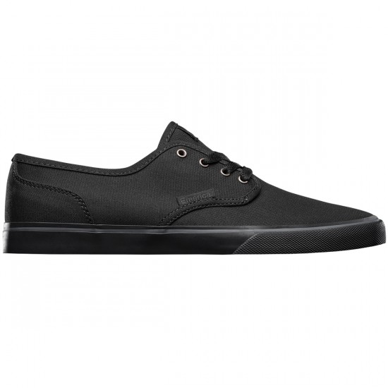 Emerica Wino Cruiser Shoes - Black/Black