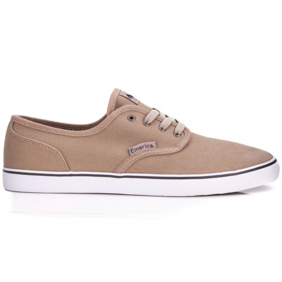 Emerica Wino Cruiser Shoes - Warm Grey - 6.0