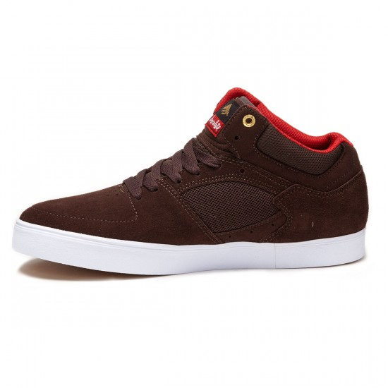 Emerica X Chocolate The Hsu G6 Shoes - Brown/White - 8.0