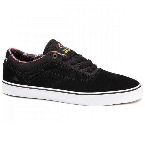 Emerica X Psockadelic The Herman G6 Shoes - Black/Print - 8.0