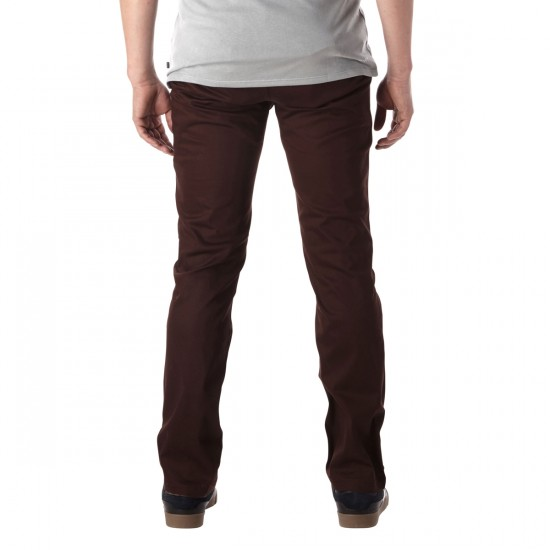 Eswic Romero Chino Pants - Brown - 31 - 32