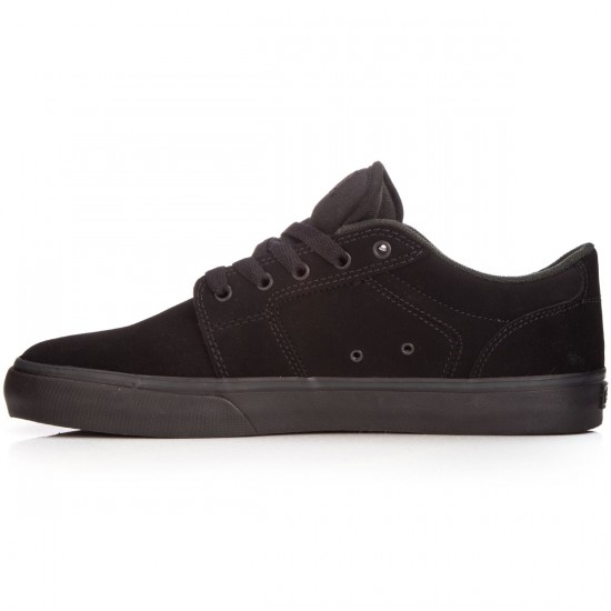 Etnies Barge LS Shoes - Black/Black - 6.0