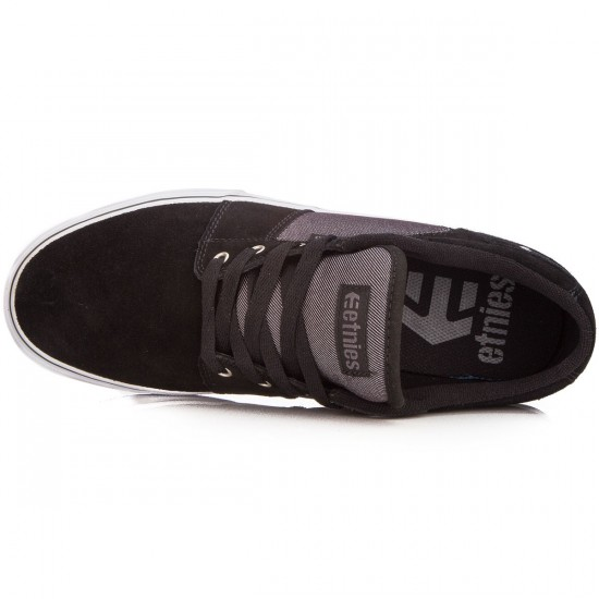 Etnies Barge LS Shoes - Black/Charcoal - 6.0