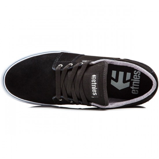 Etnies Barge LS Shoes - Black/White - 10.0