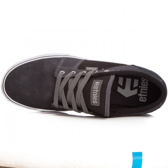 Etnies Barge LS Shoes - Dark Grey/Black - 6.0
