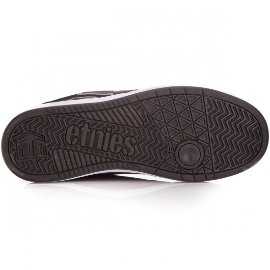 Etnies Fader LS Shoes - Black/Grey - 10.0