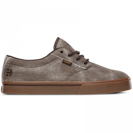 Etnies Jameson 2 ECO Shoes - Brown/Gum/Brown - 10.0