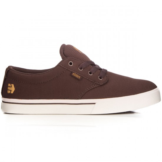 Etnies Jameson 2 ECO Shoes - Brown/White/Gum - 6.0