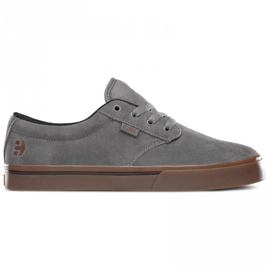 Etnies Jameson 2 ECO Shoes - Dark Grey/Black/Gum - 10.0