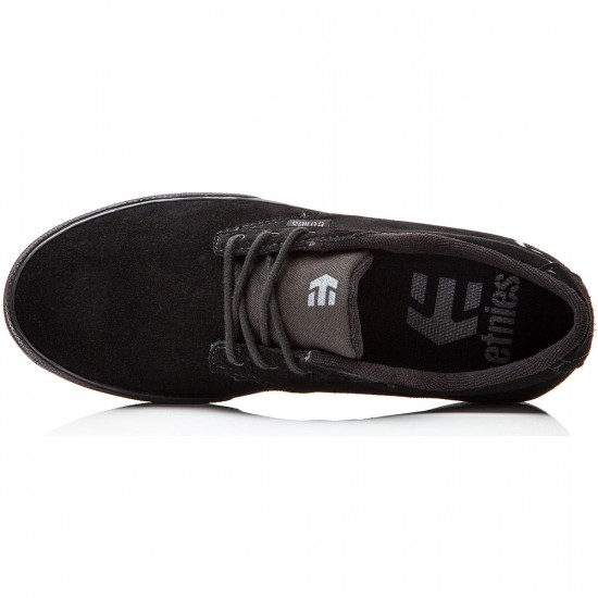 Etnies Jameson Vulc Shoes - Black/Black - 8.0