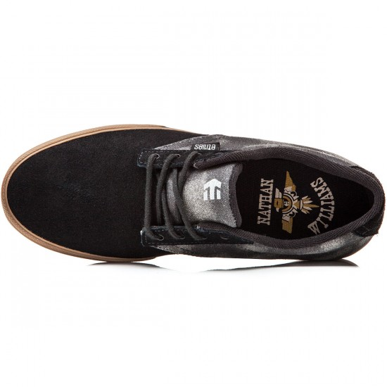 Etnies Jameson Vulc Shoes - Black/Gum - 8.0