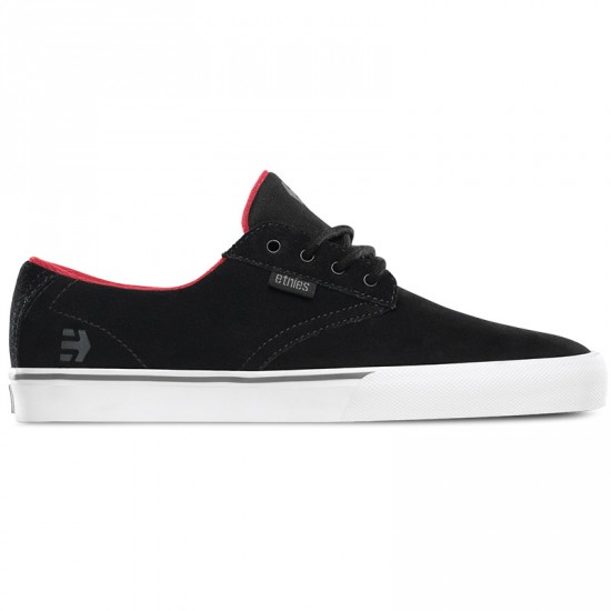 Etnies Jameson Vulc Shoes - Black - 10.0