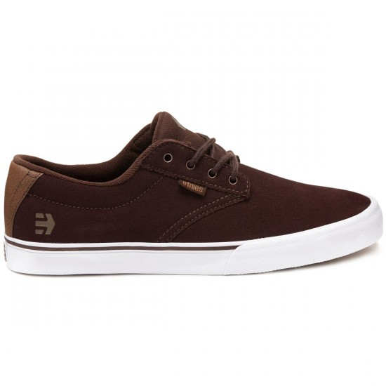 Etnies Jameson Vulc Shoes - Dark Brown - 8.0