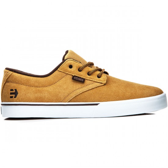 Etnies Jameson Vulc Shoes - Tan/Brown/White - 8.0