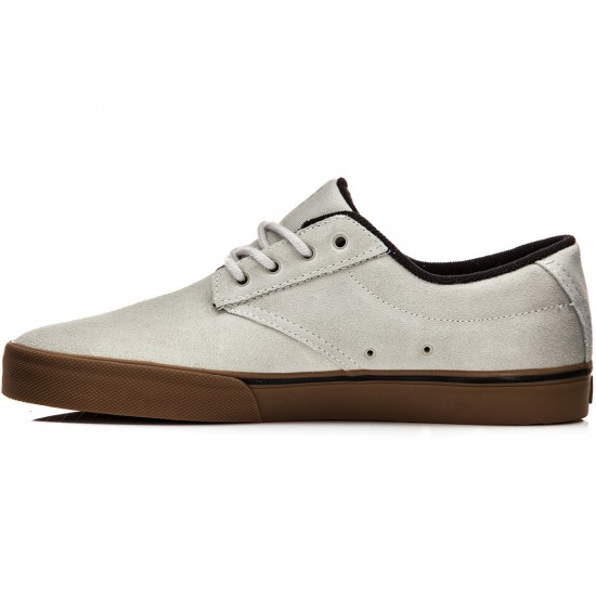 Etnies Jameson Vulc Shoes - White/Gum/Black - 8.0