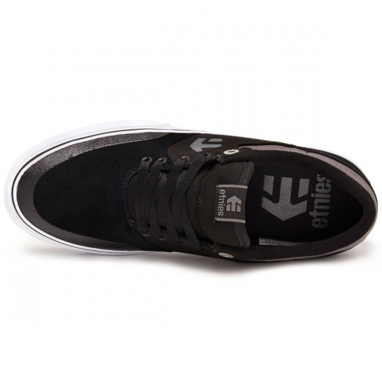 Etnies Marana Vulc Shoes - Black/Grey/White - 8.0