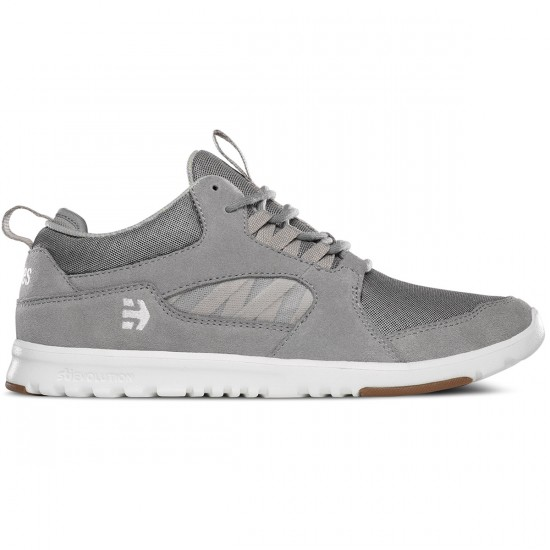 Etnies Scout MT Shoes - Grey/White/Gum - 6.0