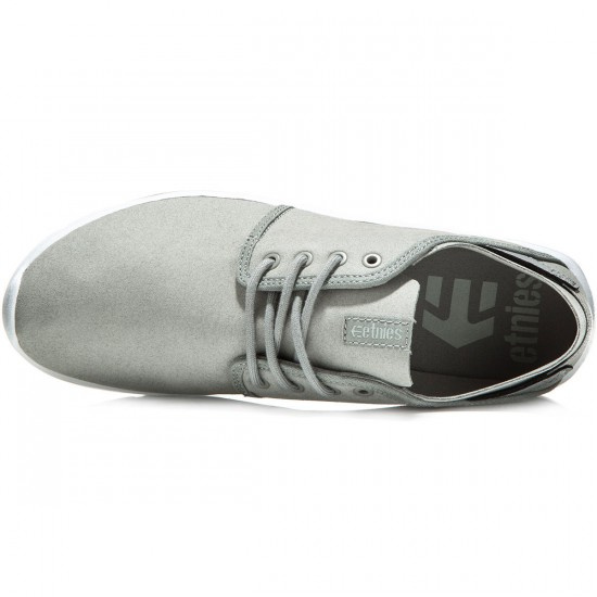 Etnies Scout Shoes - Grey/Light Grey - 8.0