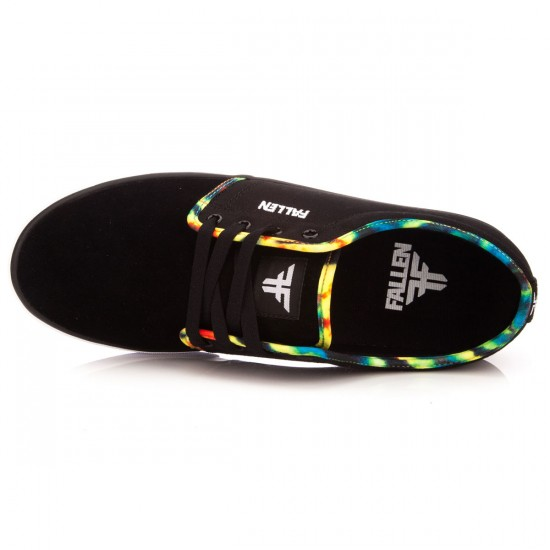 Fallen Forte 2 Shoes - Black/Tie Dye - 13.0