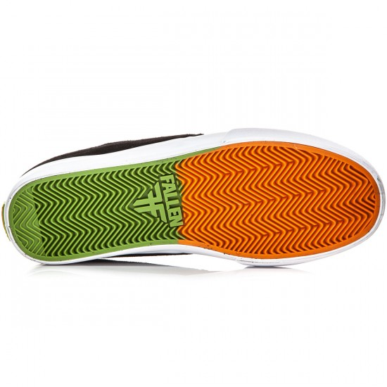 Fallen Roach Shoes - Black/Orange/OJ - 8.0
