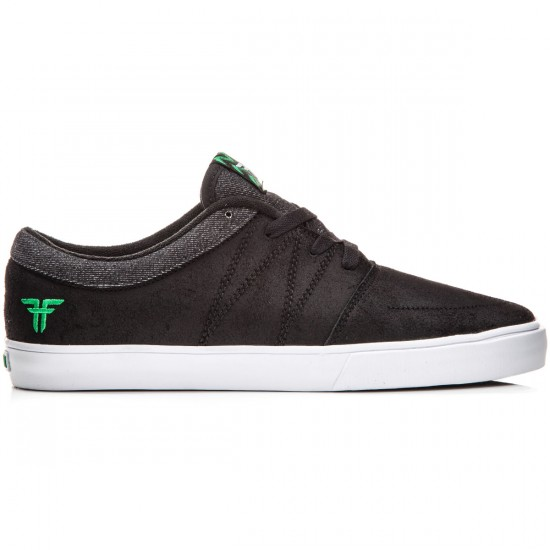 Fallen Roots Shoes - Black/Green - 10.0