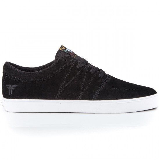 Fallen Roots Shoes - Black/White - 6.0