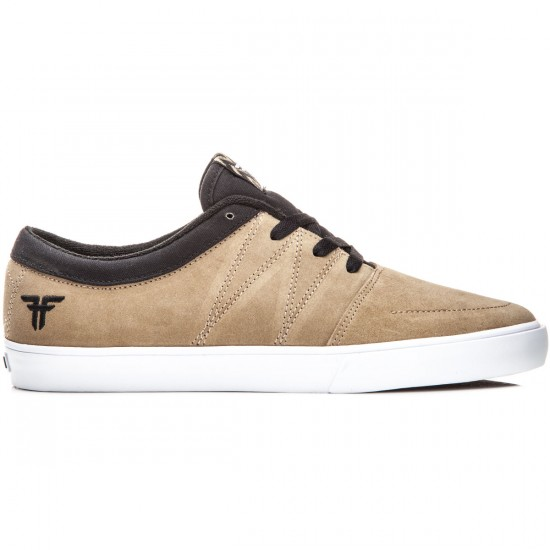 Fallen Roots Shoes - Cream/Black - 8.0