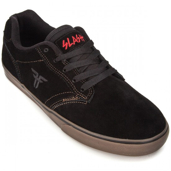 Fallen Slash Shoes - Black/Gum - 8.0