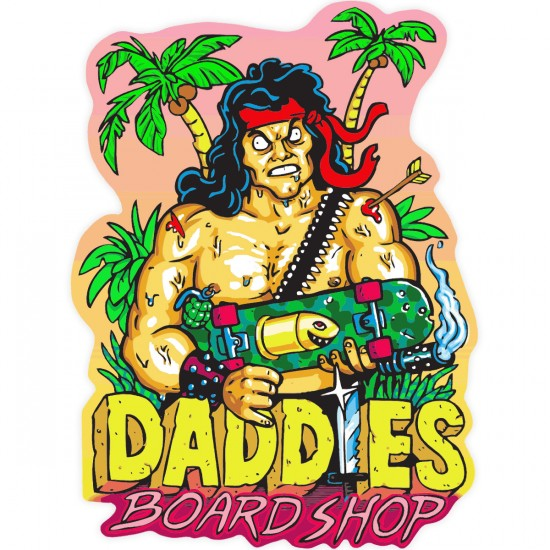 Daddies Board Shop Sticker of the Month - February 2016