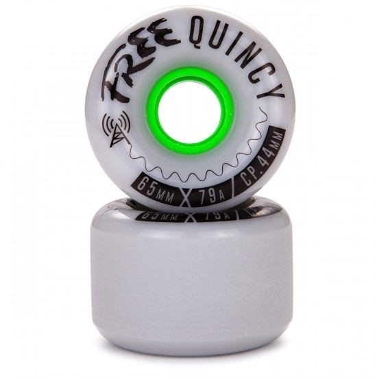 Free Quincy Longboard Wheels - 65mm 79a