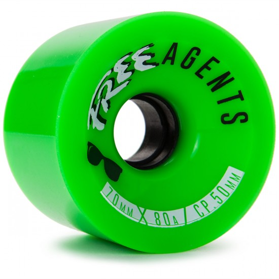 Free Agents Longboard Wheels - 70mm 80a