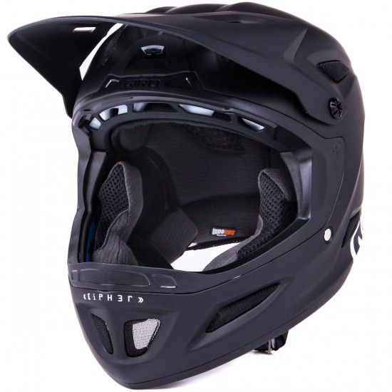 Giro Cipher Full Face Helmet - Matte Black