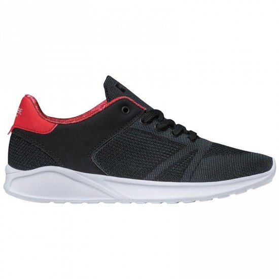 Globe Avante Shoes - Black/Red Lava - 7.0