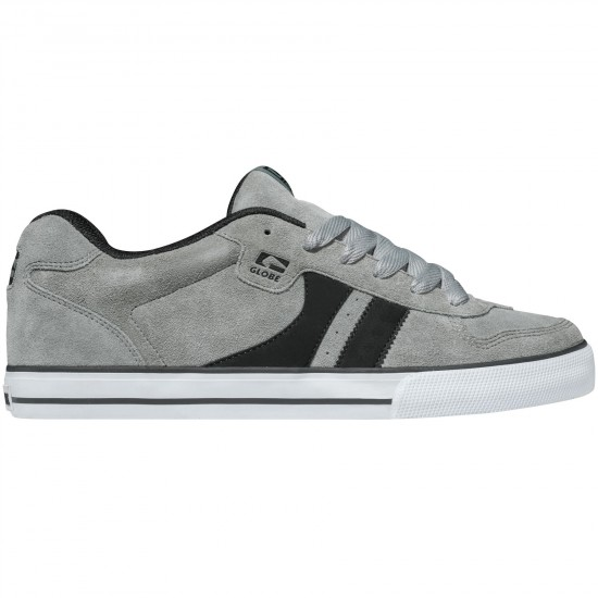 Globe Encore Shoes - Grey/Black - 7.0