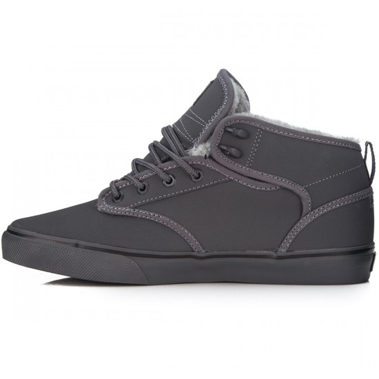 Globe Motley Mid Shoes - Charcoal/Grey - 7.0