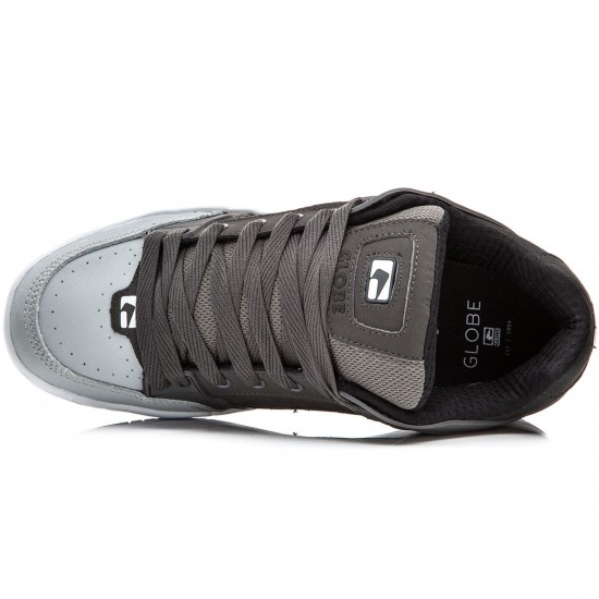 Globe Tilt Shoes - Charcoal/Grey/Night - 8.0