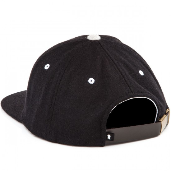 Grizzly Grip Hall Of Fame Unconstructed Hat - Black