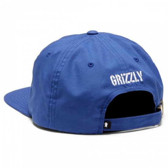 Grizzly Grip Recess Formless OG Bear 6 Panel Hat - Royal Blue