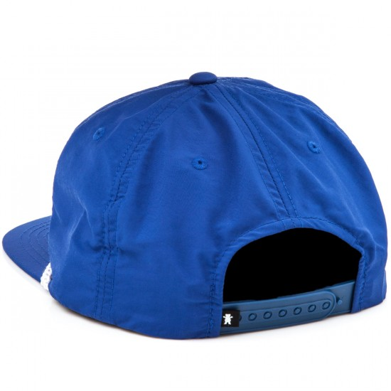 Grizzly Grip Silver River Snapback Hat - Royal Blue