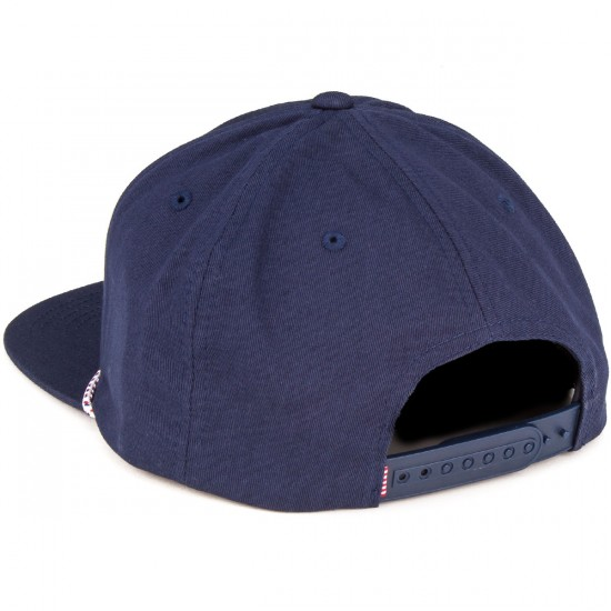 Herschel Cusak Hat - Navy/Red
