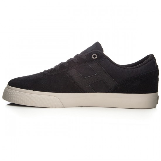 HUF Choice Shoes - Black/Bone White - 13.0